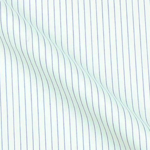 Tropical weight High end Cotton Shirting in Stripes