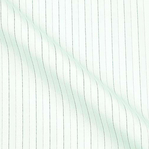 Sea Island Cotton in tone on tone with Soft coloured Stripes