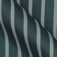 Egyptian Cotton broadcloth in modern lighter stripe on Black