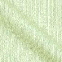 Cotton Blend Fabric With Stripes