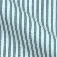 Cotton Blend Fabric in Stripes