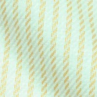 Pure Sea Island Cotton in Soft Devonshire Stripes