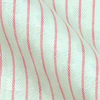 Pure Sea Island Cotton in Brooks Brother Stripes On Tone-On-Tone Overlay