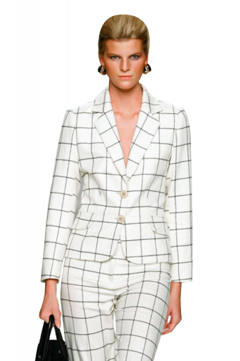These striped pant suits, with slim jackets and full length pants, are trendy formal wears. Custom-made jackets, purposeful for wedding parties and formal official gatherings, flash hand molded shoulders, two front closure buttons, notch lapels and two lower flapped pockets. Bootcut casual slim pants with flat fronts, belt loops and a zipper fly on the front for closure, are very comfortable and can be used as everyday office wears.