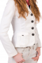 Hand Tailored White Blazers For Women