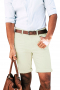 These mens custom made ivory summer shorts in supima cotton have a flat front and comfortable belt loops. These mens tailor made casual shorts also feature levi style 4 pockets, a zipper fly, and 1.5 inch turned up cuffs. You can wear these mens tailor made ivory summer shorts with mens handmade slim fit dress shirts to golf games and other sports events. You can buy these mens bespoke low rise ivory shorts at My Custom Tailor to get a hang of comfort and luxury at super affordable rates.