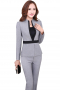 Womens Tailor Made Slim Fit Pant Suit
