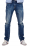 Mens Bespoke Cornflower Blue Denim Jeans