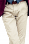 This men's off white pant is tailor made in a fine wool blend and cut to a slim fit, featuring slash pockets, extended belt loops, and a flat front pleat. It is perfect for all formal occasions, and sure to become a favorite in your wardrobe!