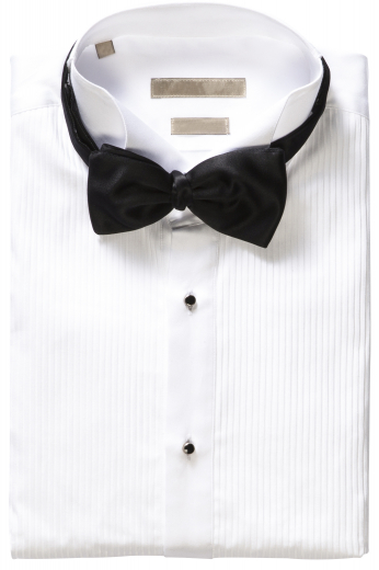 This men's slim cut white button down is tailor made in a fine linen blend and features an wing tip collar and rounded barrel cuffs. It is a classic option for any occasion, made to fit you perfectly!