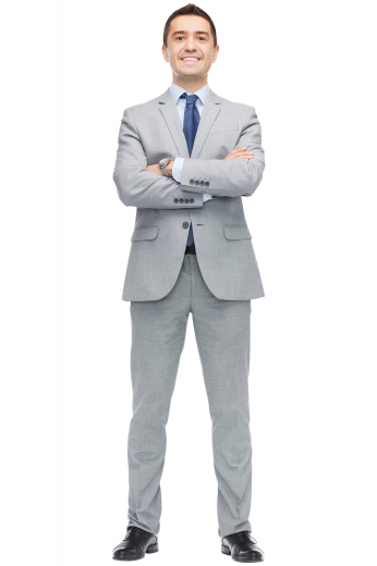 This men's suit set is tailor made in a fine wool blend, perfect for all formal occasion. It is cut to a slim fit, featuring a single breasted closure, notch lapels, and slash pockets.