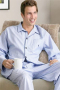 Mens Cozy Cotton Pajama Set