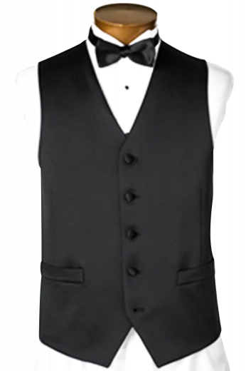 A five button angled square front waistcoat with an elegant slim cut single breasted design tailor-made to turn heads everywhere you go.