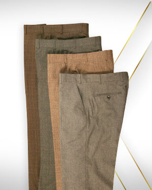 Summer 2020 Bumper Sale - 4 Pants from our Classic Collections