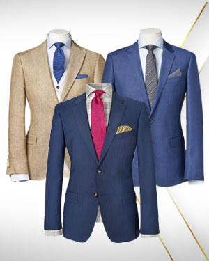 The Sport Package - 3 Jackets and 2 Neckties from our Classic Collections