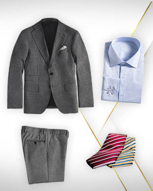 New Order Trial Offer - 1 Suit, 1 Shirt, 1 Pants and 2  Necktie from our Classic Collections