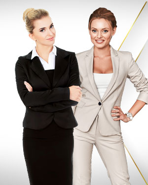 Spring Special Offer - 1 Skirt Suit, 1 Pants Suit and 2 Silk Scarf from Exclusive Collections
