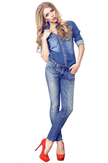 This womens handmade light blue denim jeans is a breathtaking custom made garment from the exclusive range of bespoke garments at My Custom Tailor. This womens tailor made low waist denim jeans has 4 levi style front pockets, a comfortable zipper fly, and extended belt loops hand stitched for better support. You can wear this womens bespoke light blue low waist denim jeans to parties and night outs.