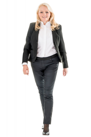 Style no.16067 - This womens bespoke slim fit black jacket in cashmere wool comes from the range of premium-quality handmade garments at My Custom Tailor. With an iconic representation of shawl collar and 2 double piped lower pockets, this womens made to order single breasted jacket has a 2 button front closure for proper fitting. You can also get it customised with hand stitched edges of lapels and pockets for a neater look. Wear this womens bespoke wool jacket and be a trendsetter at work.