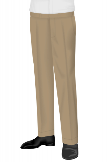 With a full cut pleat design, these men's vintage suit pants are fashionably made with a standard two-point button and hook closure, a flat front, front slash pockets and so much more. These men's classic suit pants are a great wardrobe staple for any sophisticated man.