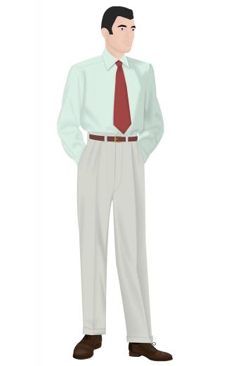 Mens Classic – Vintage Custom made Pants & Slacks – style number 16295