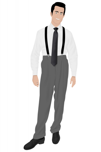 Mens Classic – Vintage Custom made Pants & Slacks – style number 16296