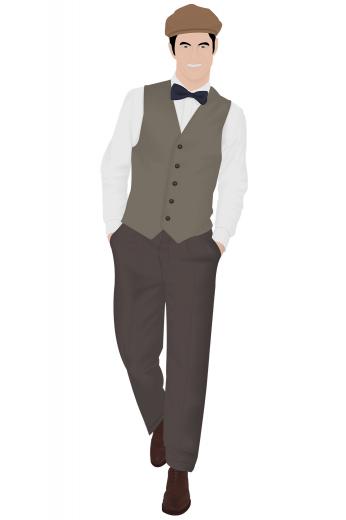 Mens Classic – Vintage Custom made Pants & Slacks – style number 16297