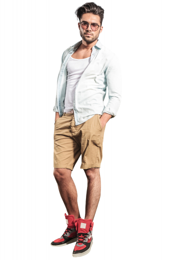 Mens Classic – Custom Made Shorts – style number 16700
