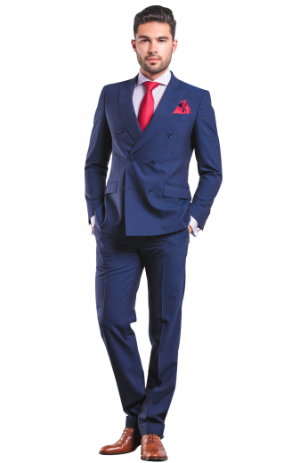 Mens Classic – Mens Suits - Double Breasted – style number 16868