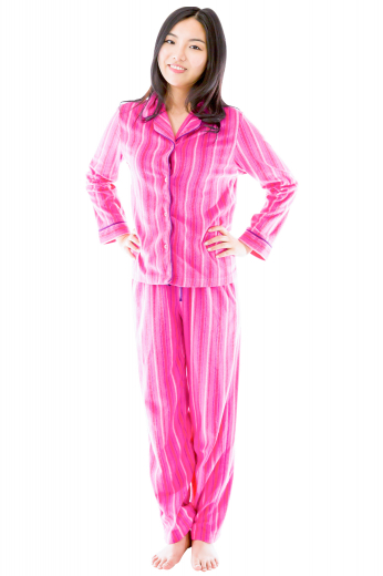 Womens Custom Night Wear – Women's Cotton Pyjamas – style number 17066