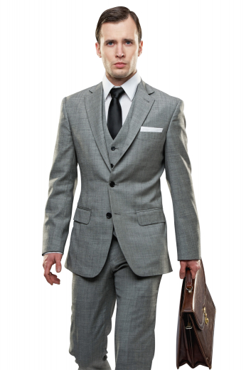Mens Designer Brands – Mens 3pc Suits – style number 17329