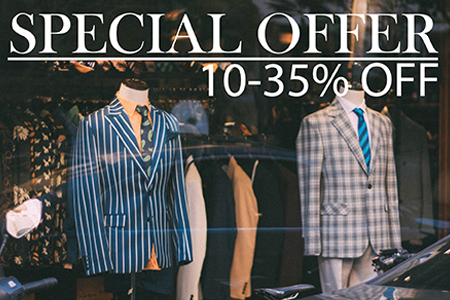 specials and offers at my custom tailor