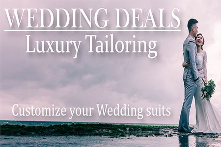 Order clothes for your wedding